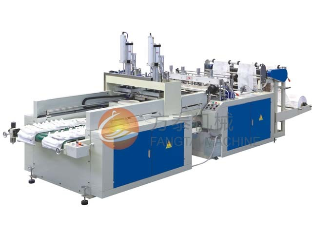 Automatic T-Shirt Bag Making Machine (CE)