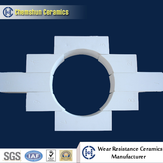 Ball Mill Engineered Ceramic Brick Liner Designed From Ceramics Manufacturer