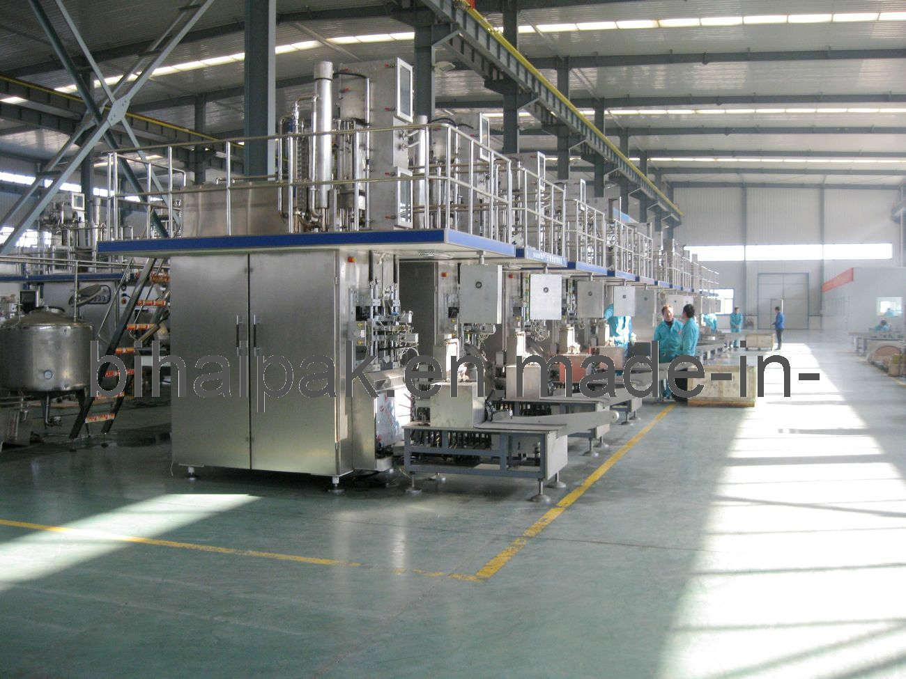 Tera Pak Filing Machine for Juice