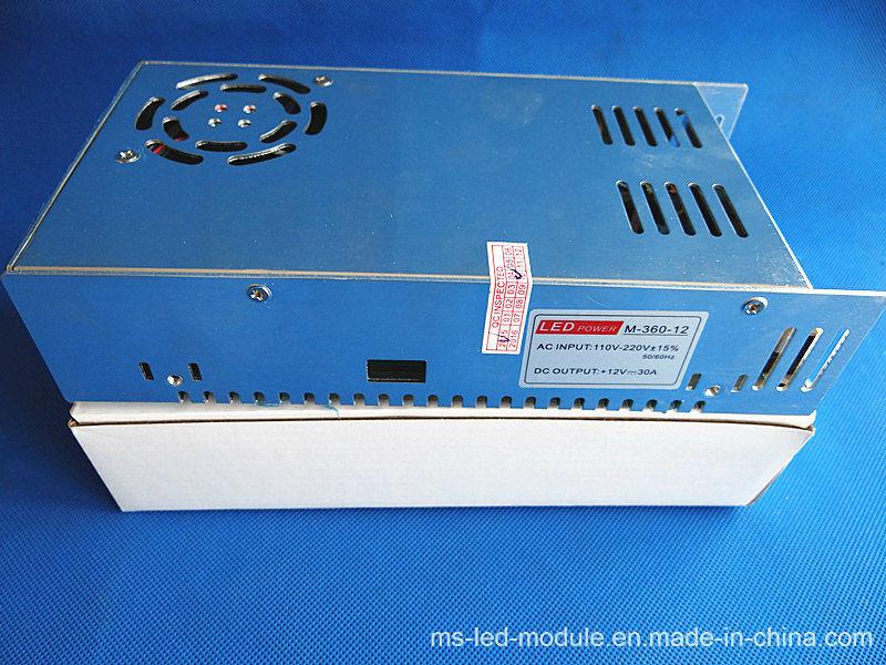 360W 12V 30A Non-Rainproof 2 Warranty LED Power Supply
