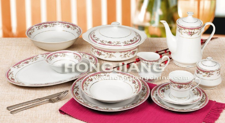 60PCS Porcelain Dinnerware (2291#)