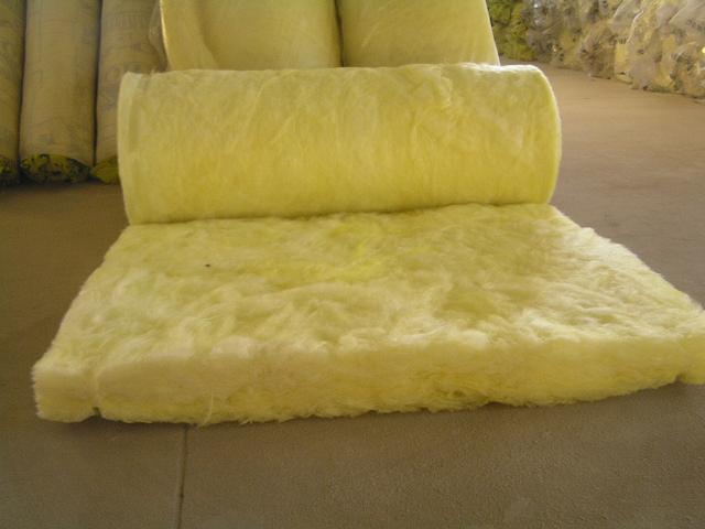 china heat insulation fiber glass wool roll china glass
