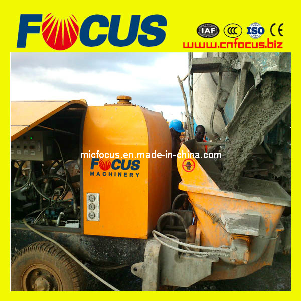 Hbts60.13.130r 60m3-80m3/H Diesel Trailer Stationary Concrete Pump