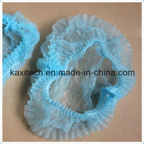 Mob Cap Non Woven Clip Cap Ready Made Disposable Medical Products Kxt-Mc09