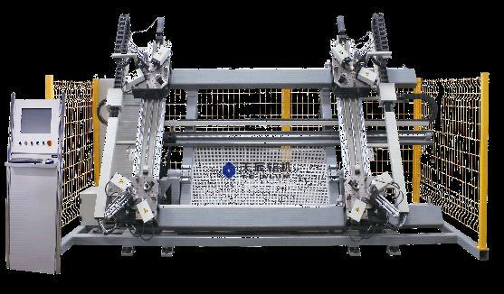 Four Head Corner Crimping Machine CNC