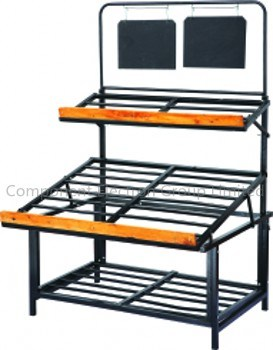 Vegetable Shelf (CEG-R008) , Vegetable Rack, Supermarket Rack
