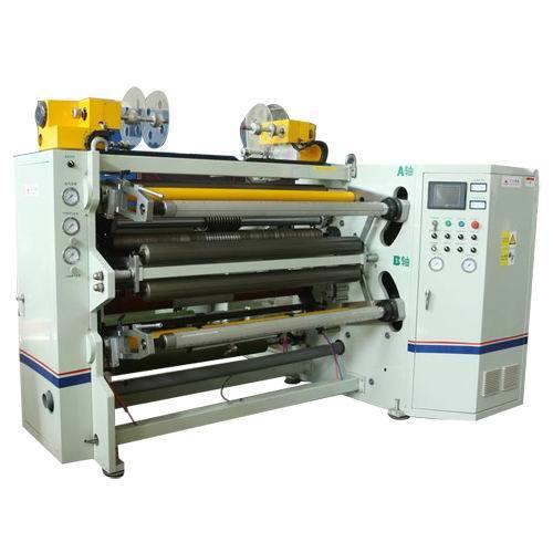 Jumbo Reel Aluminum, Adhesive Film Slitting Machine