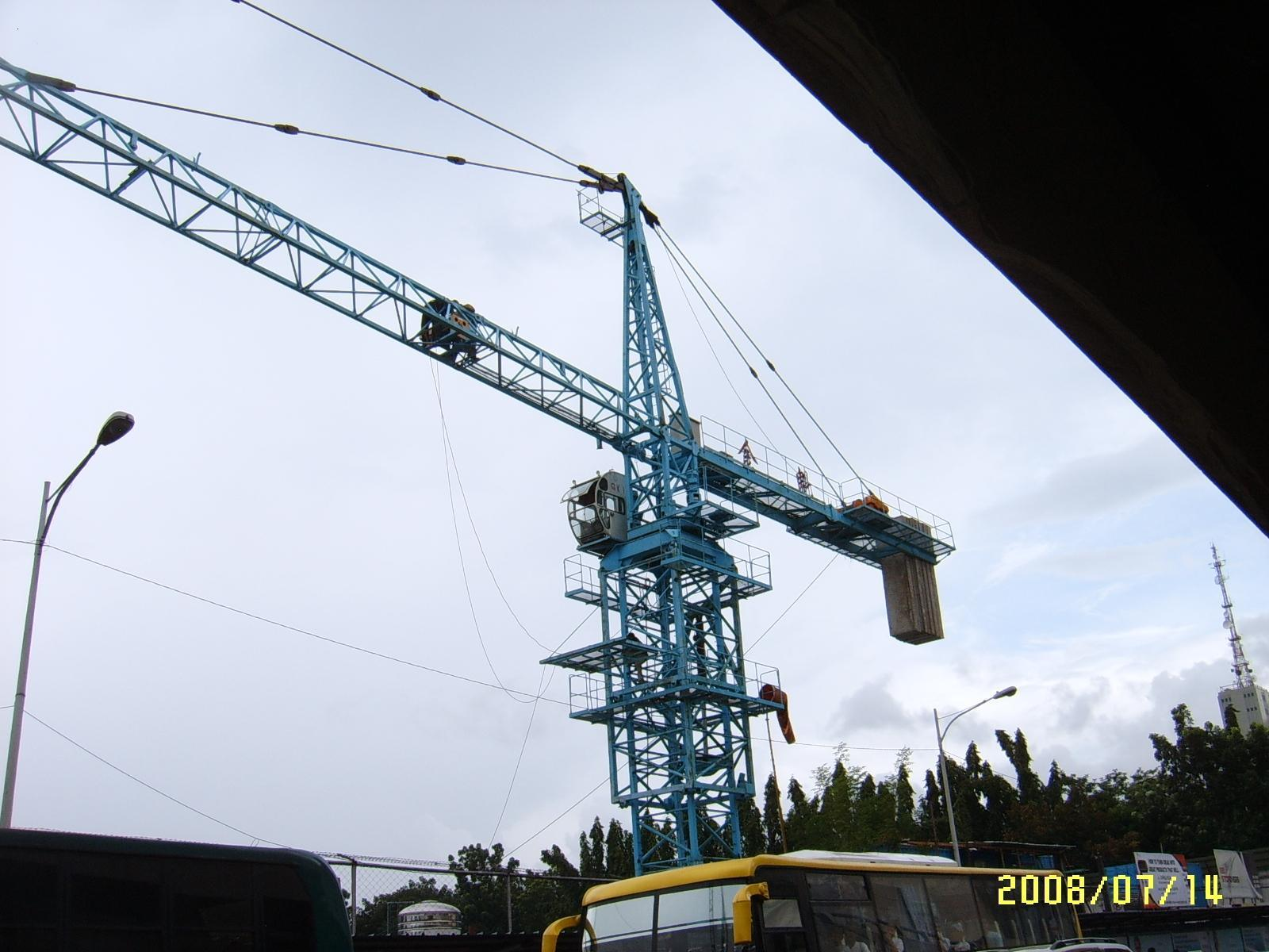 Tower Crane Productivity : The information is not available right now