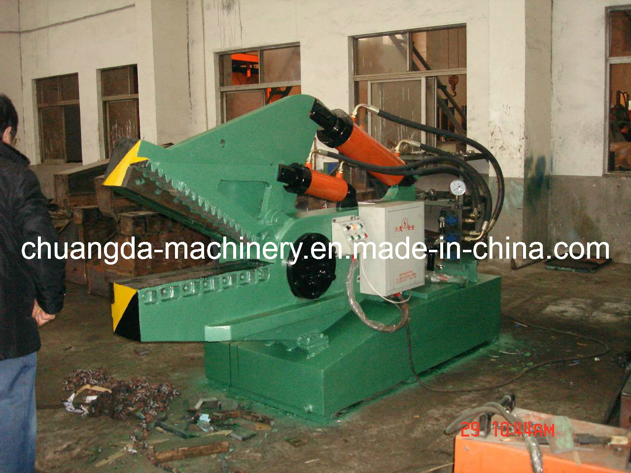 Hydraulic Metal Shear (Q08-160)