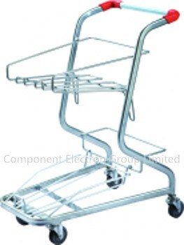 Shopping Cart (double movable basket)