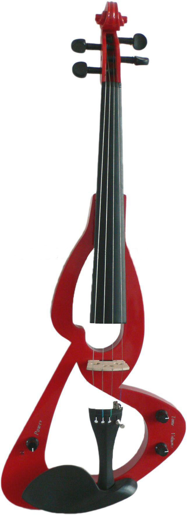 photograph of an electric violin