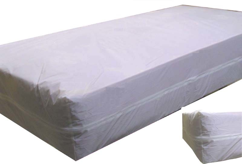 Twin Size Plastic Mattress Cover Vinyl Mattress Protector - China Vinyl Mattress Protector ...