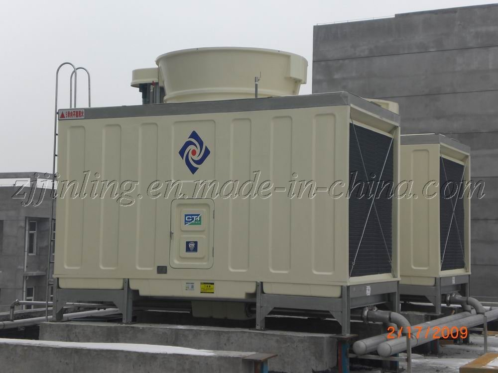 CTI Certified Closed Cross Flow Type Cooling Tower (JNC-70T)