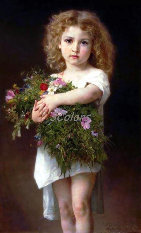 portrait painting. Oil Painting - Portrait