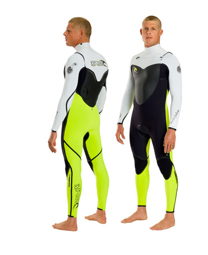 Men`S Neoprene Diving Wetsuit for Sports with Nylon Both Sides