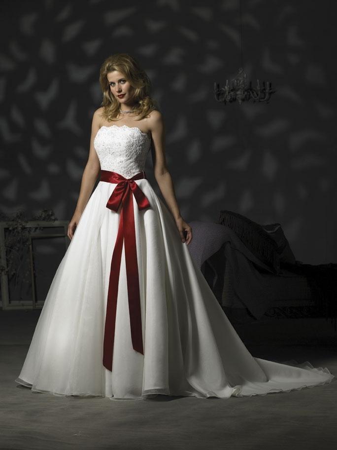 China Wedding Dress With Color Foe017