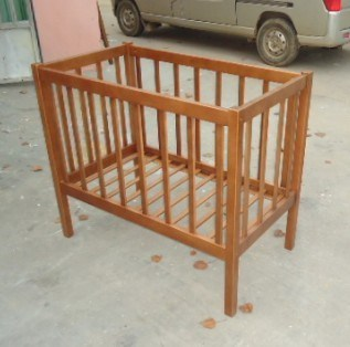 China Baby Crib Solid Wood Baby Cradle Furniture Photos