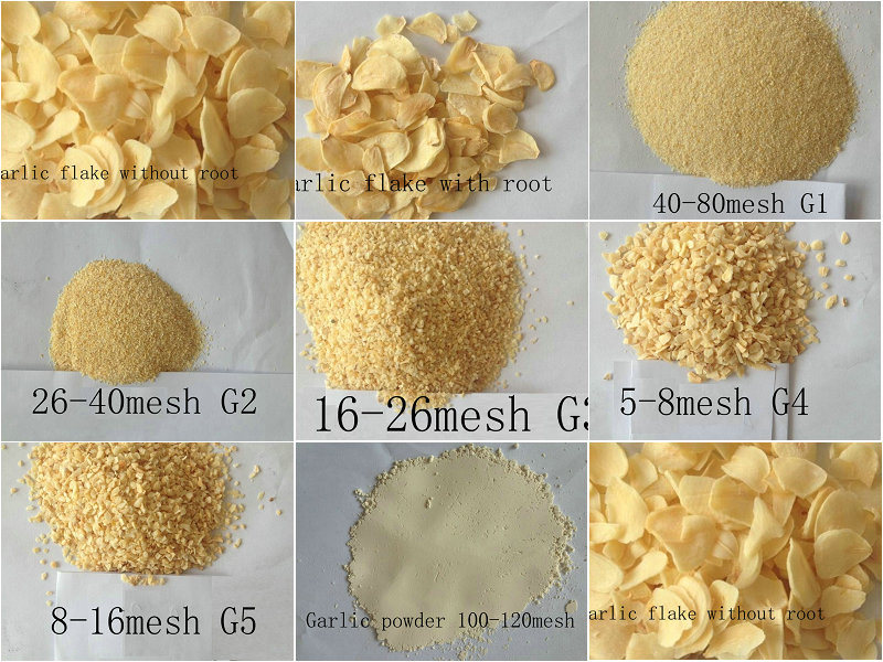 Dehydrated Garlic for Meat Industry Air Dehydrated