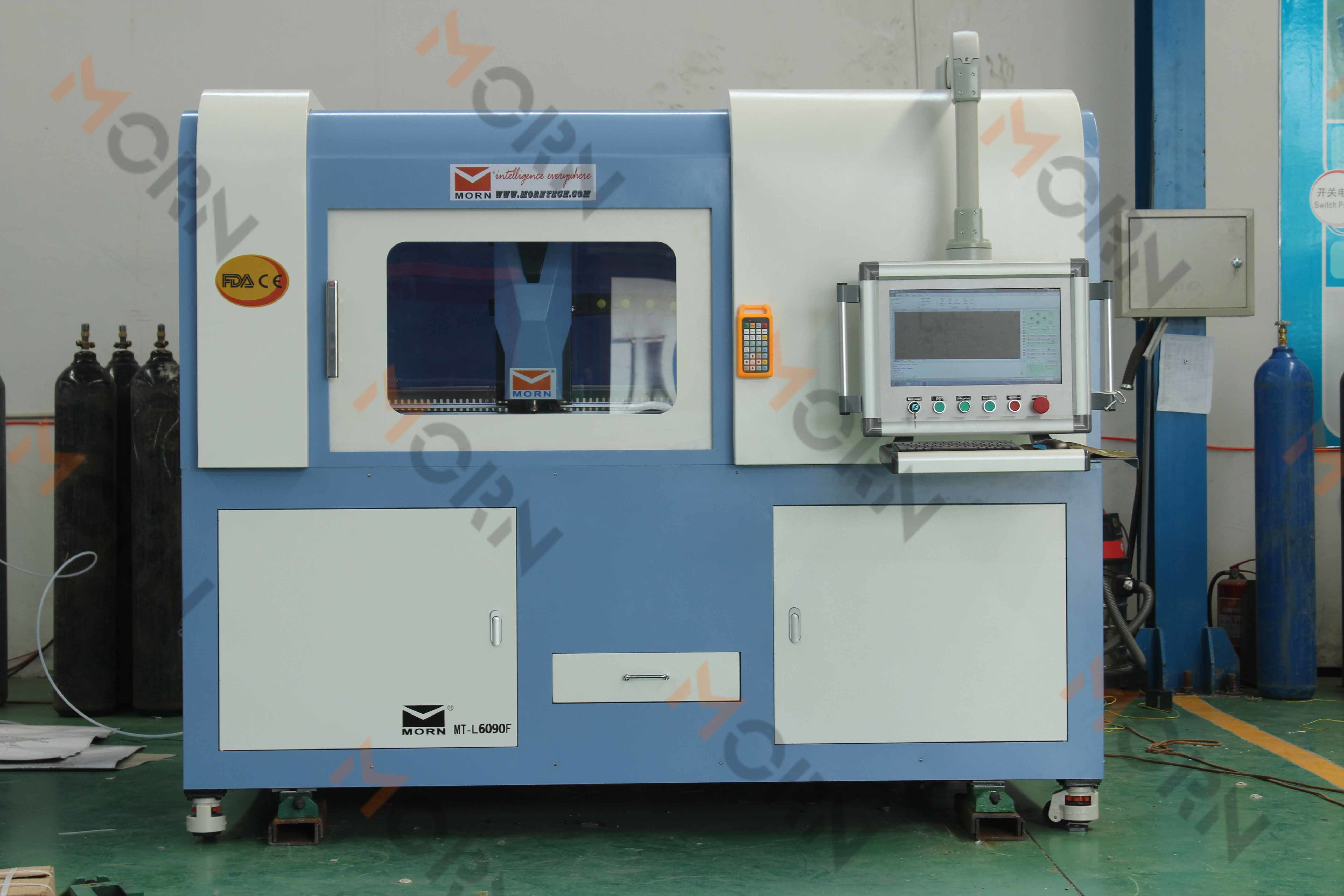 Small Size Metal Fiber Laser Cutting Machine with Safety Cover