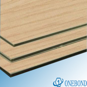 Wood Grain Aluminium Composite Sheet