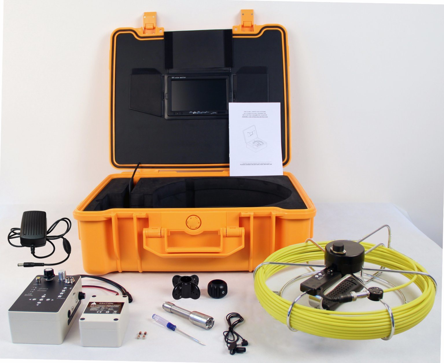 Cheap Sewer Pipe Inspection Camera with Meter-Counter