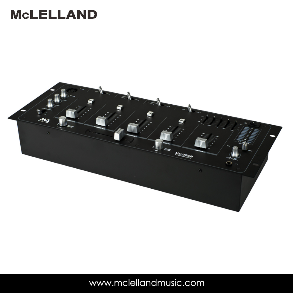 Multi Channel Stereo Mixers / Audio Mixer (MC-1100B)
