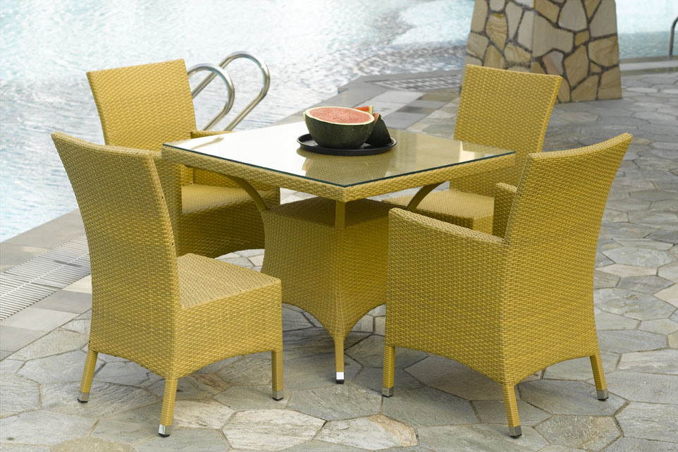 China Outdoor Furniture Miami Dining Set China Outdoor