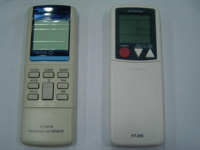 kt n828 universal ac remote manual