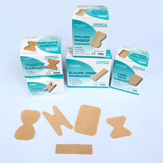 High Elastic Fabric Wound Plaster First Aid Plaster Bandaids