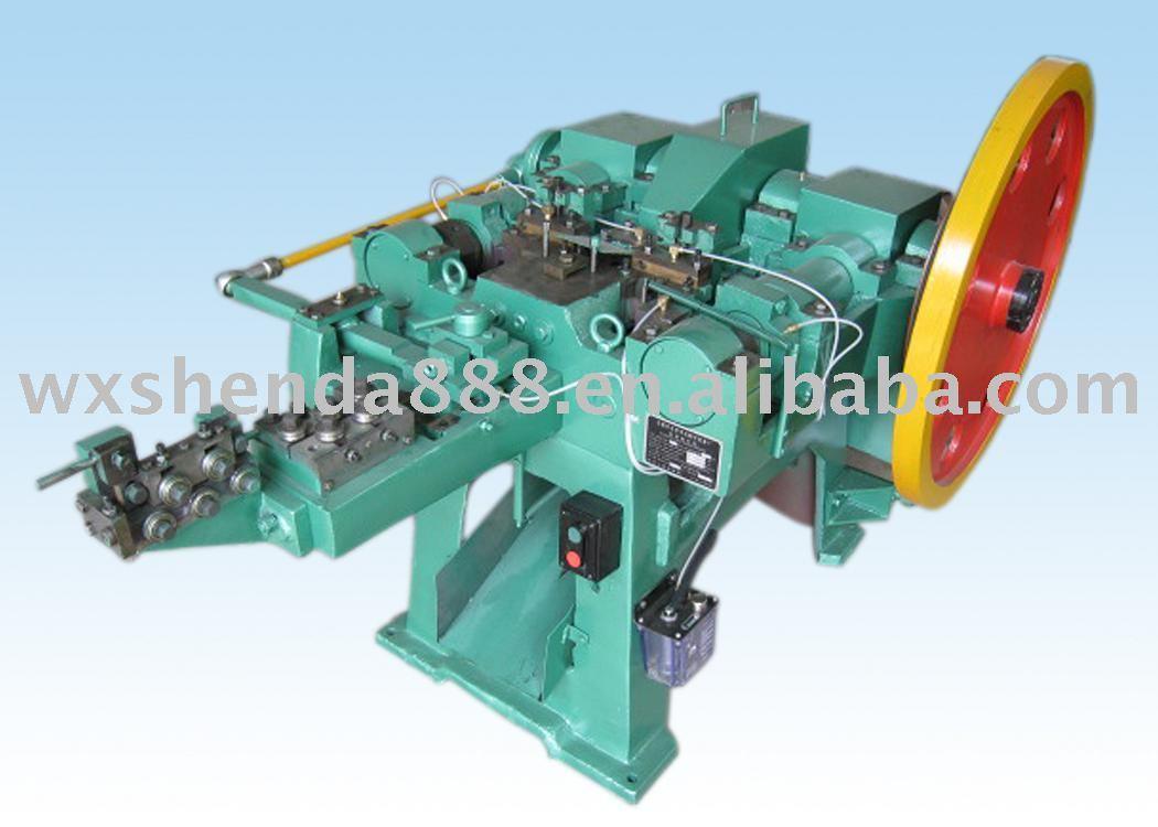 Automatic Simple Struction Nail Making Machine
