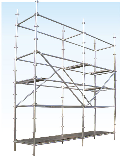 System Scaffold Components : China ringlock system scaffolding