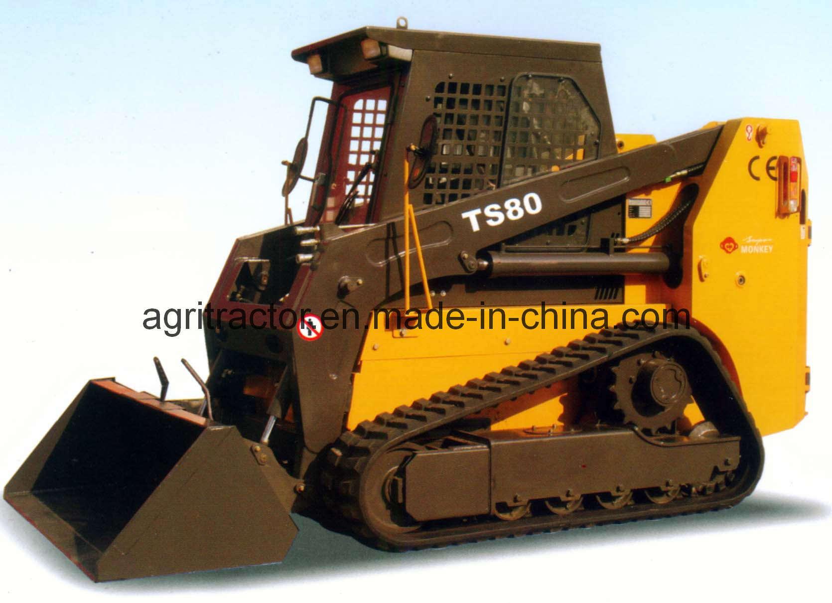 Track Skid Steer Loader : China track skid steer loader ts