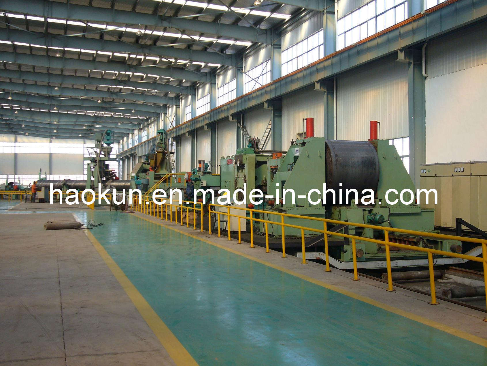 SSAW Pipe Production Line Spiral Pipe Machine