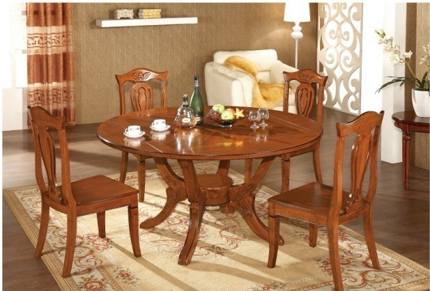 China Dining Furniture Dining Wooden Sets Dining Table