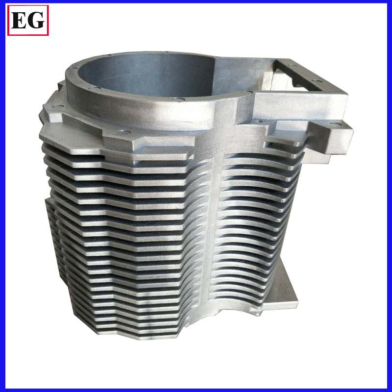 1250 Ton Castings Aluminum Parts Die Casting Process for Automotive Motor Housing