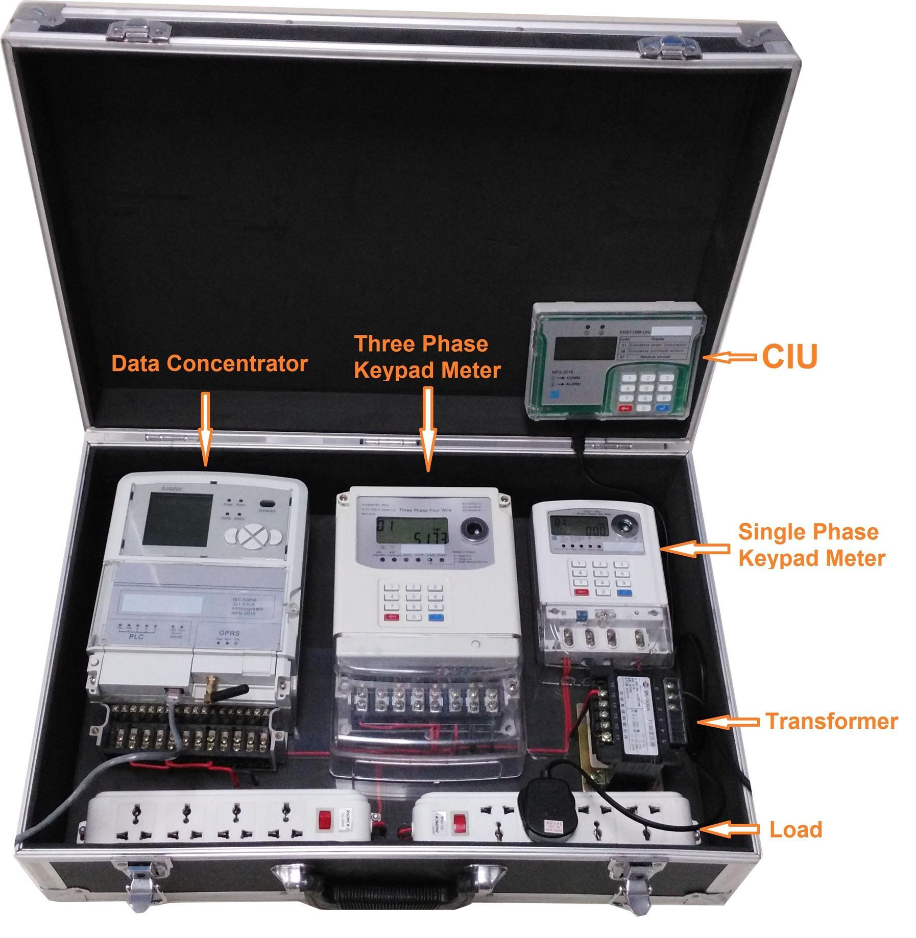 AMR Ami System Remote Control and Prepaid Demonstrate Box