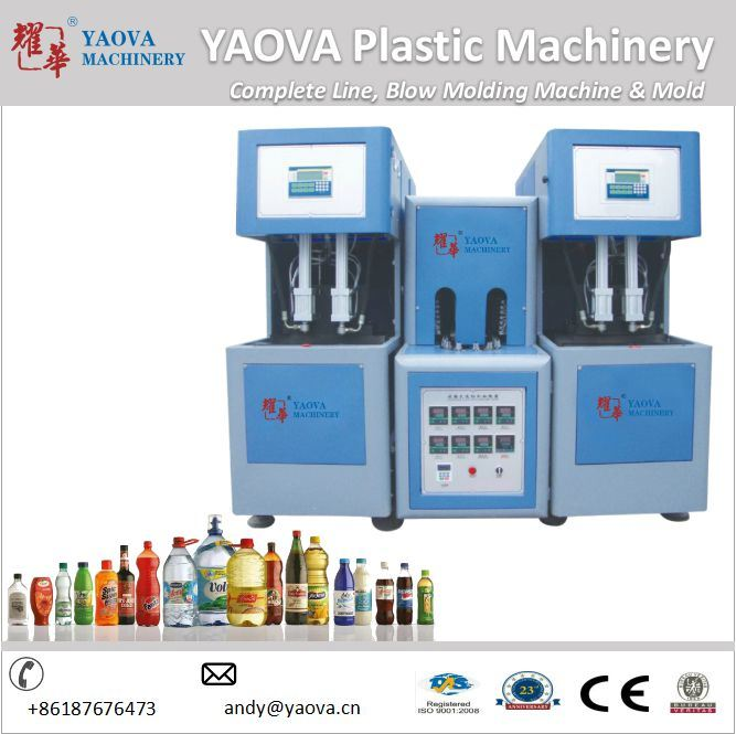 for Wide Jar Pet Bottle Two Blower Plastic Blowing Machine Price