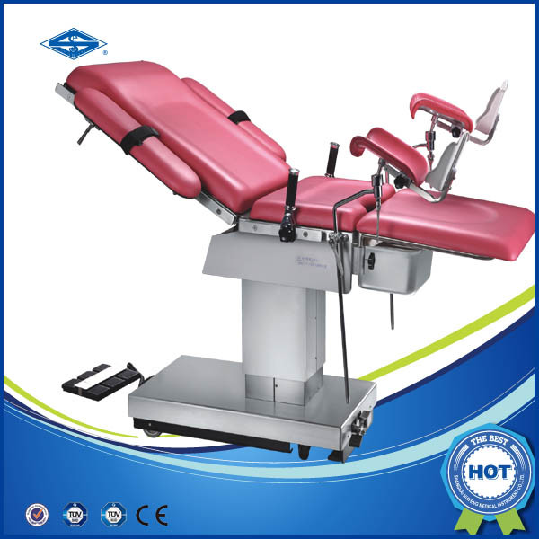 Electrical Obstetric Birth Bed Female Gynecological (HFEPB99B)