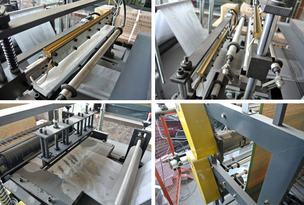Computer Control Two-Layer Rolling Bag-Making Machine for Vest & Flat Bags (DZB-500/600/700/800)