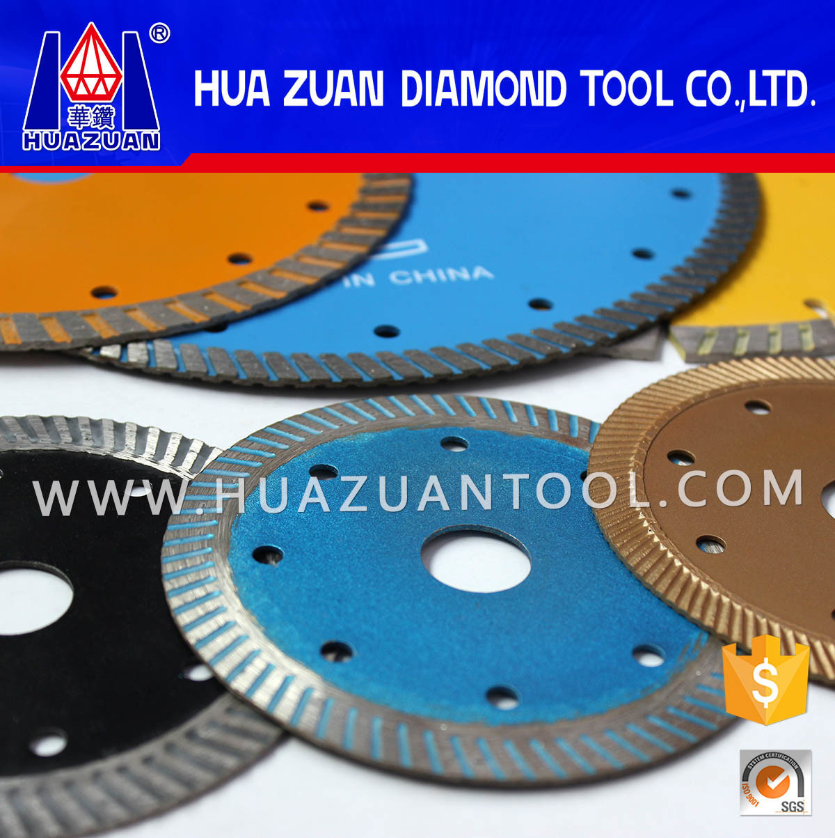 Stone Cutting Disc by Turbo Hot Pressed