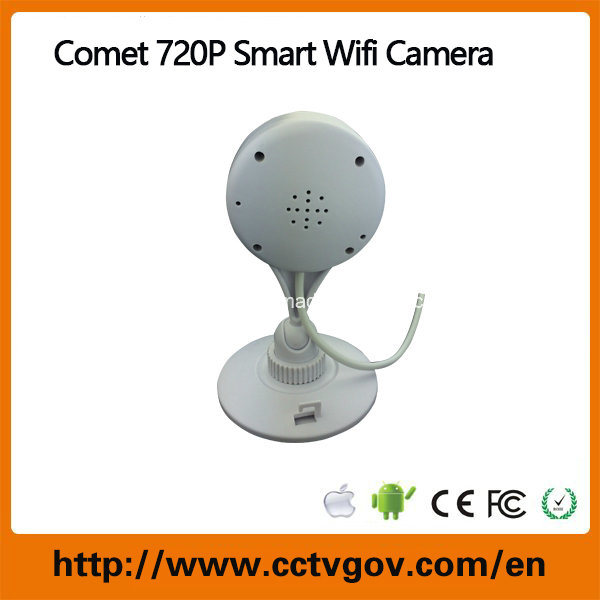 Comet HD 720p Smart Wireless WiFi IP Camera with Memory Card Recording