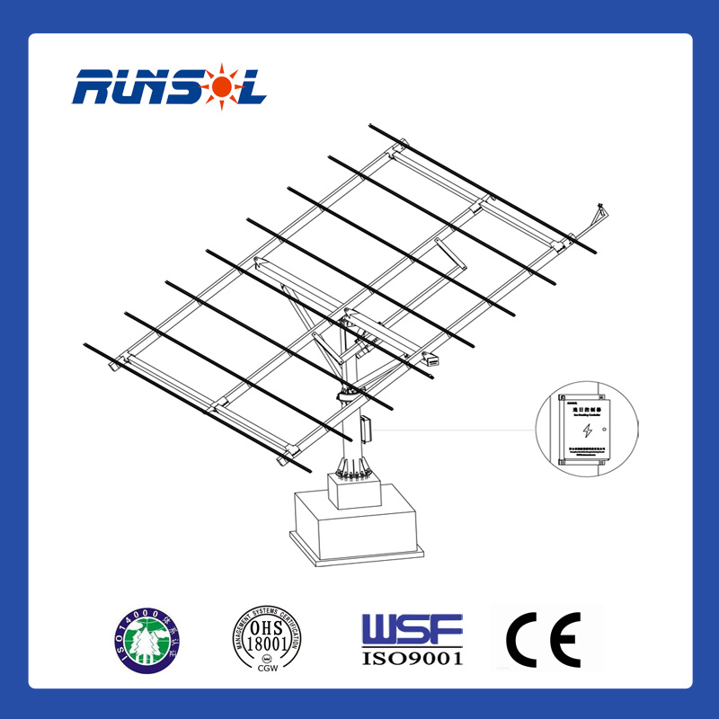 Two-Axis Solar Tracker