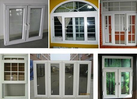 Sliding Window, High Quality PVC Sliding Window with Grilles Designs