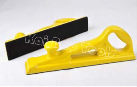 67X400mm Rectangular Hand Sanding Tool with Velcro or Vinyl