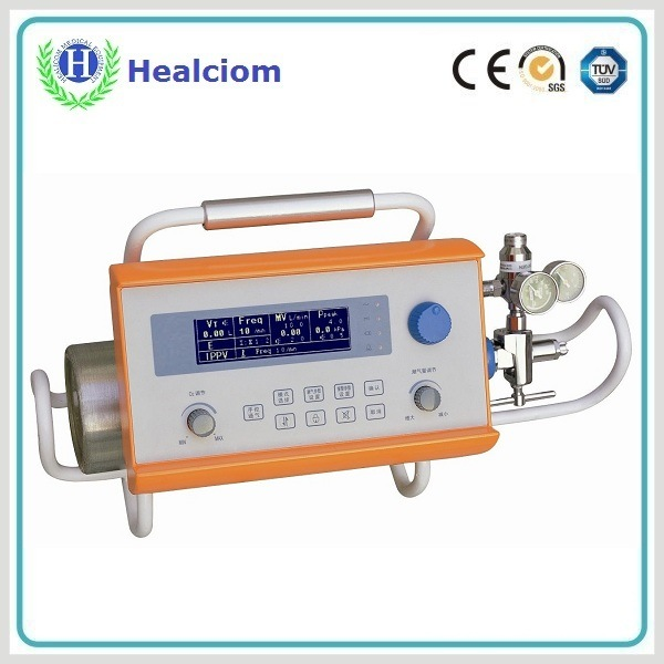 Portable Emergency Ambulance Ventilator with LCD (HV-100E)