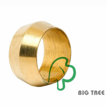 Brass Sleeve for Ferrule Compression Fitting