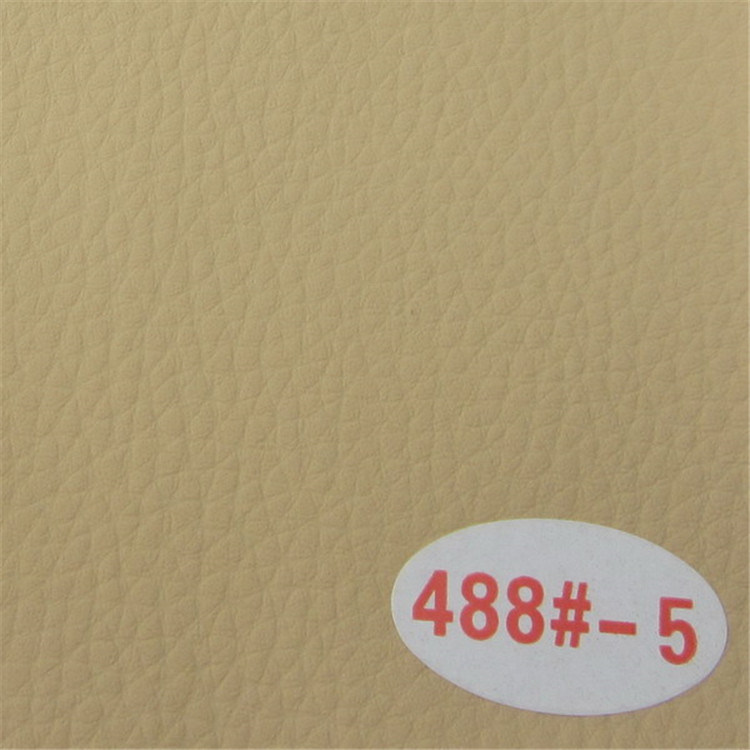 China Wholesale High Abrasion Resistant PVC Synthetic Sofa Leather