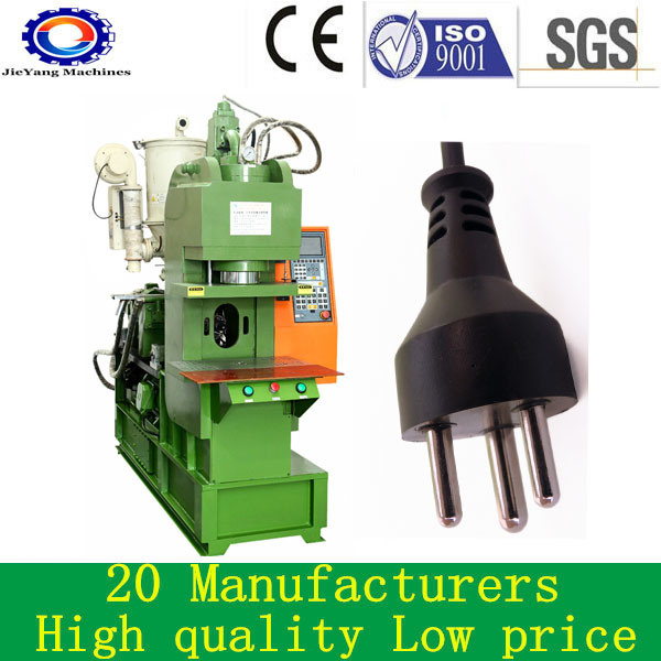 Plastic PVC Electric Plug USB Cable Injection Molding Machine