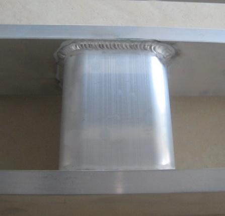 Aluminum Welding Pallet for Medical Transportation