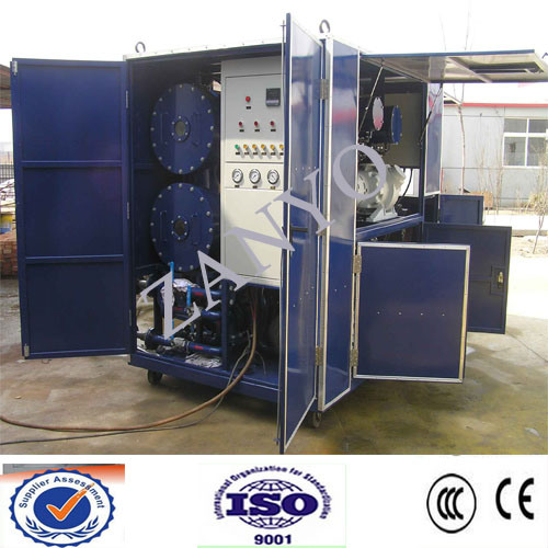 6000L/H Double-Stage Vacuum Transformer Oil Purifier